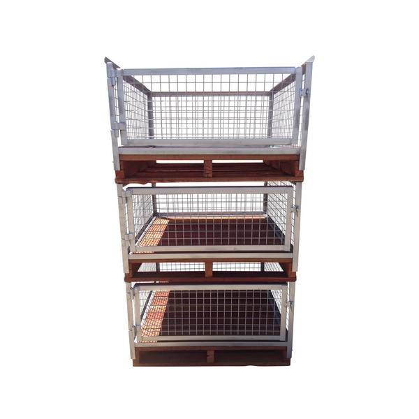 Storite Pallet Mount Pallet Cages