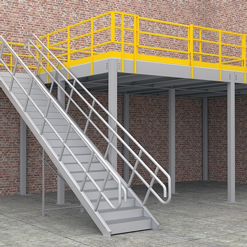 Structural Mezzanine Floors - Storite Systems