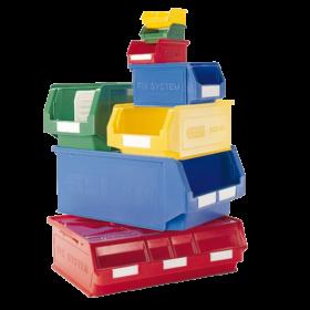 Storite - SSI Schafer semi open front bins